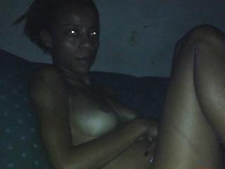Grosse Titten und ein schwarze Möse