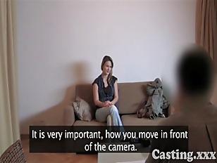 Trotz Periode beim Casting